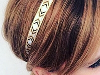 Hair Tattoo: la nuova moda dei metallic tattoo tra le star Foto